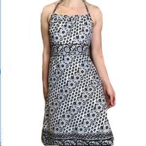 ANN TAYLOR LOFT HALTER DRESS size 4